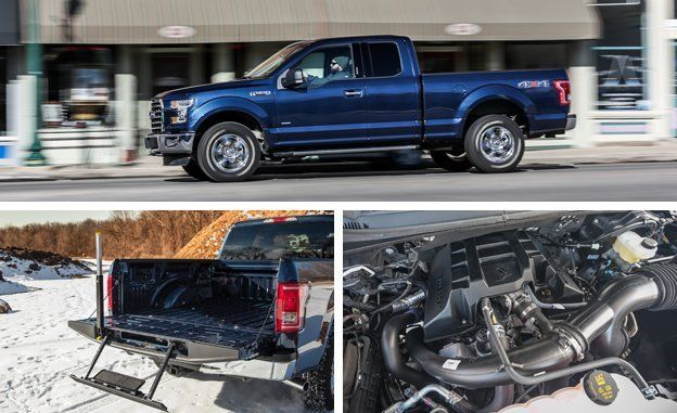 2015 Ford F150 27 EcoBoost 4x4 Test  Review  Car and Driver