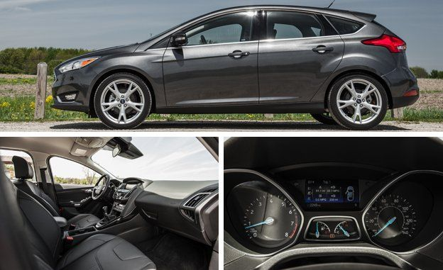 2015 Ford Focus Titanium Manual Test  Review  Car and Driver
