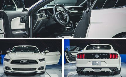 2015 Ford Mustang 50th Anniversary Edition Photos and Info   News ...