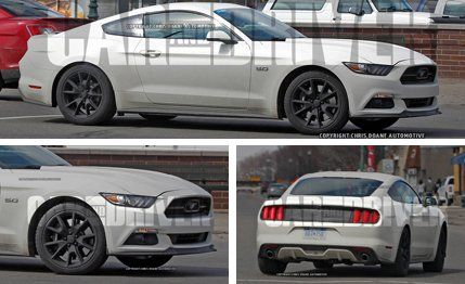 Find a Ford Mustang Near You & 2015 Ford Mustang 50th Anniversary Edition Spy Photos u2013 Future ... markmcfarlin.com