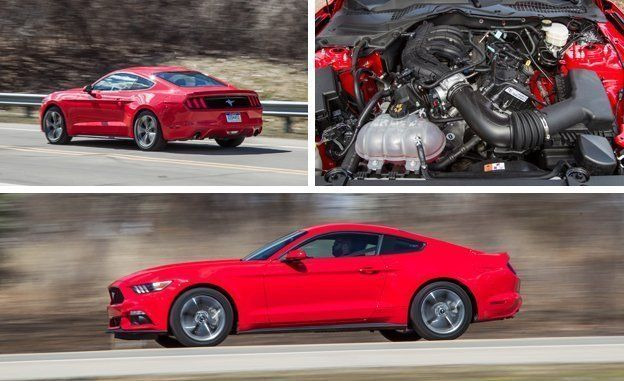 2015 ford mustang v-6 test – review – car and driver