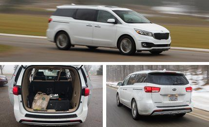 Kia Sedona Reviews | Kia Sedona Price, Photos, And Specs | Car And Driver