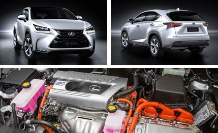 2015 Lexus NX  NX200t  NX300h Crossover Photos and Info  News