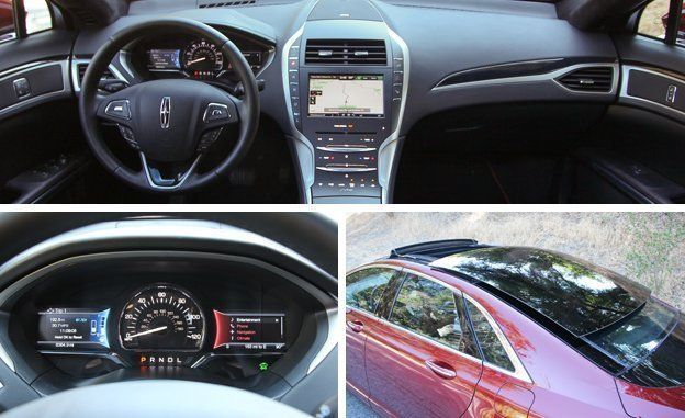 2015 Lincoln MKZ Hybrid  Review  Car and Driver