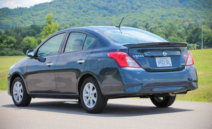 2015 Nissan Versa Sedan First Drive   Review   Car and Driver