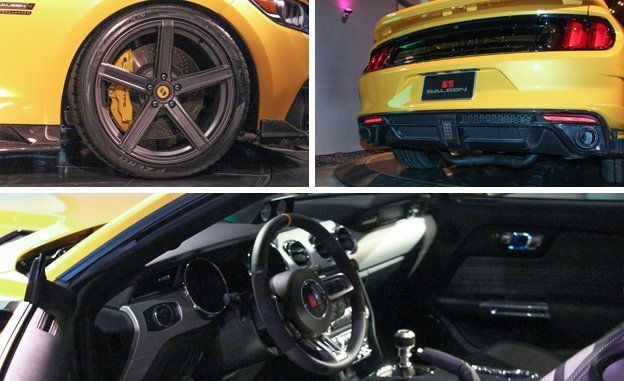 2015 Saleen Mustang S302 Black Label Revealed | News | Car and Driver