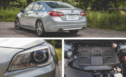 Subaru Legacy 3.6r >> 2015 Subaru Legacy 3 6r Limited Test Review Car And Driver