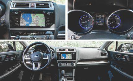 Subaru Legacy 3.6 R >> 2015 Subaru Legacy 3 6r Limited Test Review Car And Driver