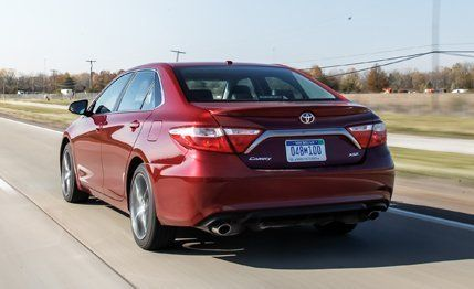 2015 Toyota Camry Xse V 6 Test Review Car And Driver