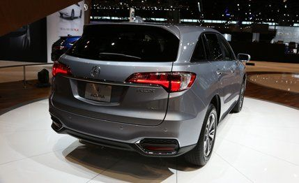 2016 Acura RDX Revealed: New Looks, More Power | News | Car and Driver