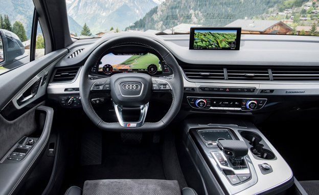 2017 Audi Q7 First Drive Review Car And Driver