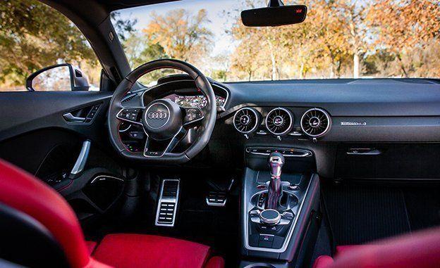 Audi TTS Test Review Car And Driver - Audi tt manual transmission