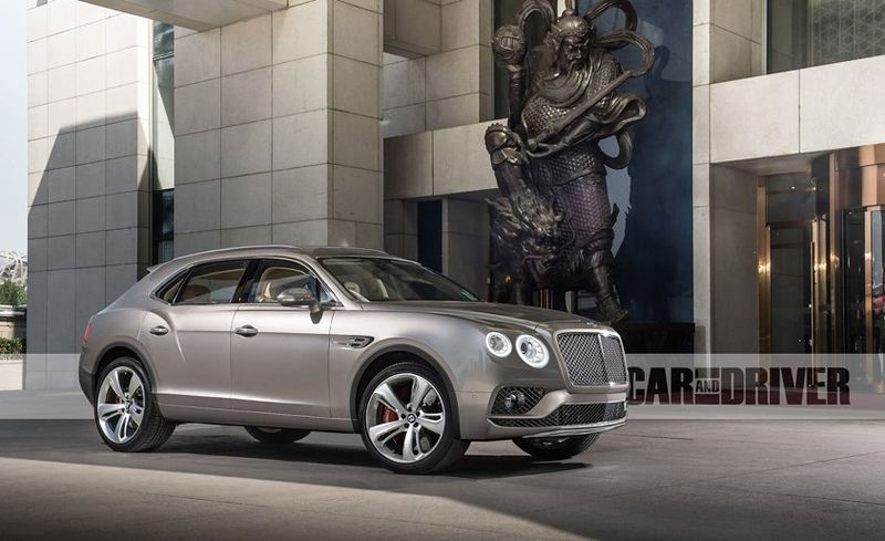 2016 Bentley Bentayga SUV: 25 Cars Worth Waiting For | Feature | Car ...