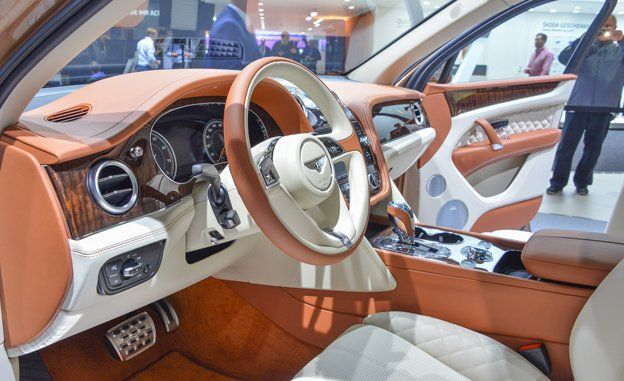 Bentley bentayga interior 2016