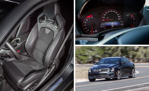 Cadillac Ats V Coupe >> 2016 Cadillac Ats V Coupe Test Review Car And Driver