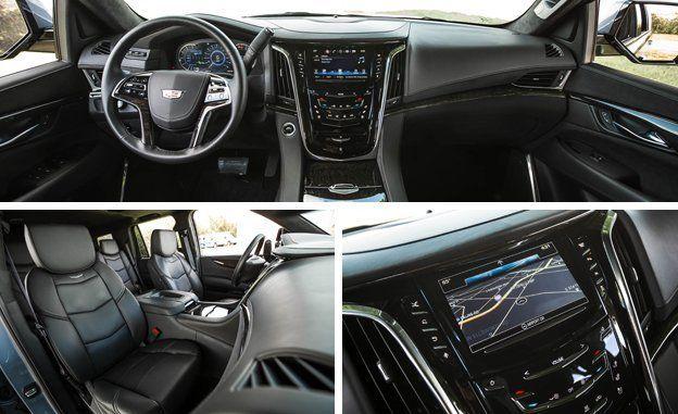 2016 Cadillac Escalade Interior >> 2016 Cadillac Escalade Platinum Test Review Car And Driver