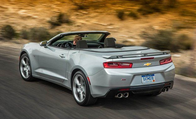 2016 Chevrolet Camaro Convertible First Drive | Review | Car and Driver