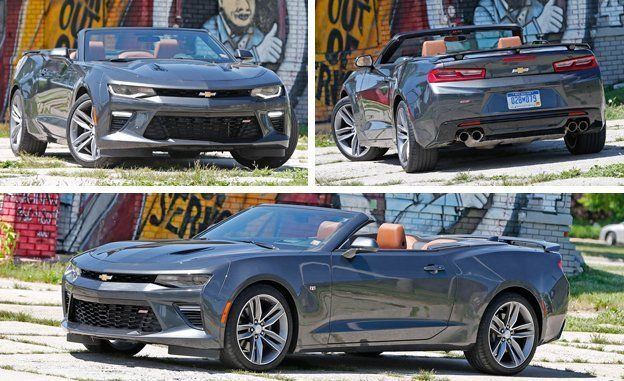 2016 Chevrolet Camaro SS Convertible Test  Review  Car and Driver