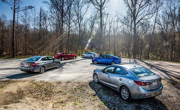 2016 Chevrolet Cruze Vs. 2016 Honda Civic, 2017 Hyundai Elantra, 2016 Mazda  3, 2016 Nissan Sentra | Comparison Test | Car And Driver