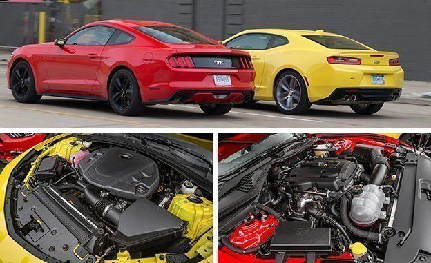 Camaro Vs Mustang >> 2016 Chevrolet Camaro V 6 Vs 2016 Ford Mustang Ecoboost