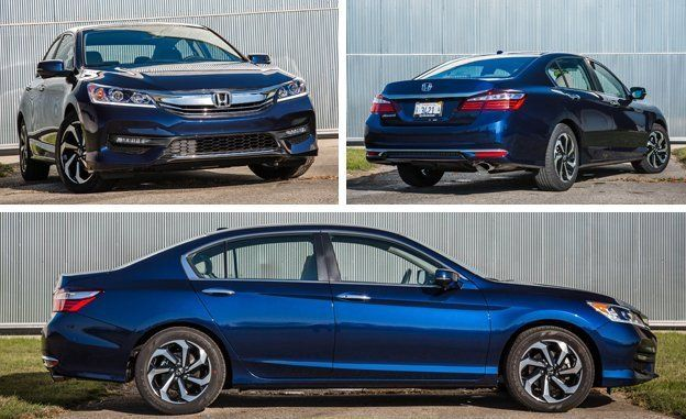 2016 Honda Accord Sedan EX Test  Review  Car and Driver