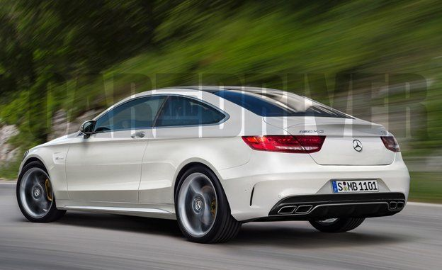 2016 MercedesAMG C63 Coupe Rendered Detailed  News  Car and Driver