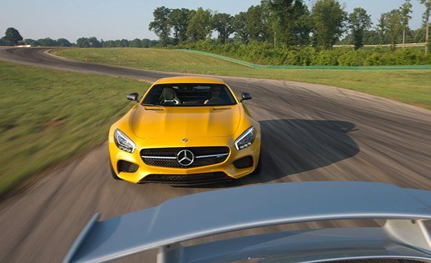 Mercedes-AMG GT S at Lightning Lap 2015   Feature   Car and Driver