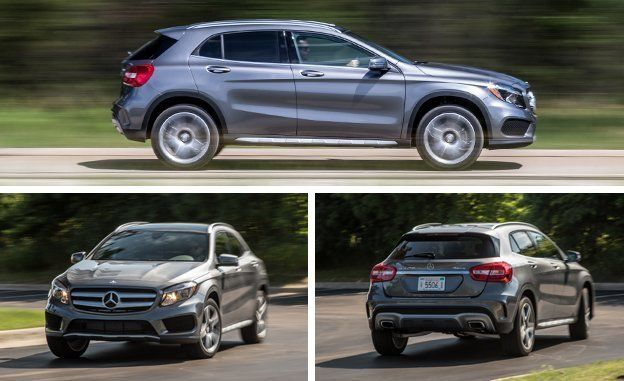 2016 Mercedes Benz Gla250 4matic Instrumented Test Review Car And Driver