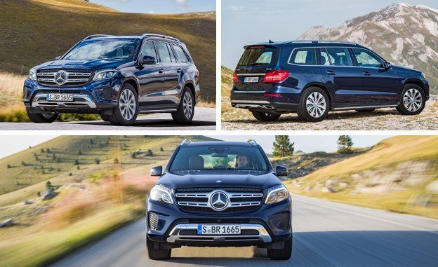 2017 mercedes-benz gls-class first drive – review – car and driver