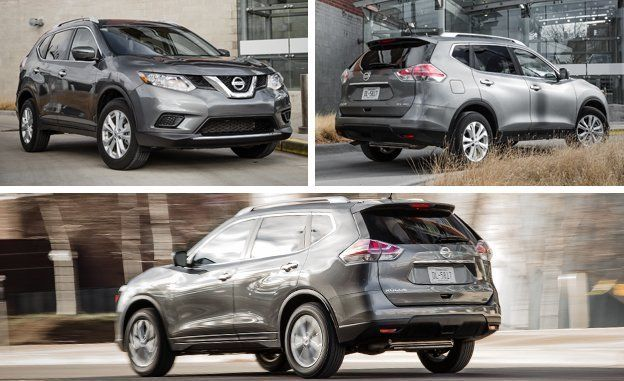 2016 Nissan Rogue Sv Awd Review Car And Driver