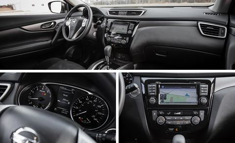 2016 nissan rogue sv awd review car and driver. Black Bedroom Furniture Sets. Home Design Ideas