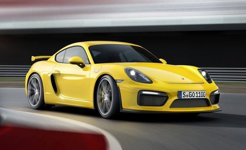 Porsche cayman gt4 0 60