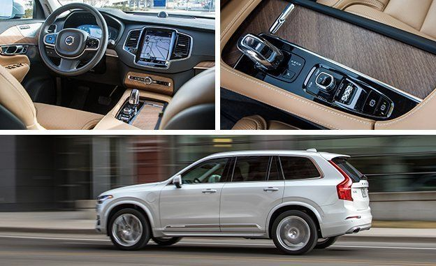 Volvo Xc90 Hybrid >> 2016 Volvo Xc90 T8 Plug In Hybrid Test Review Car And Driver