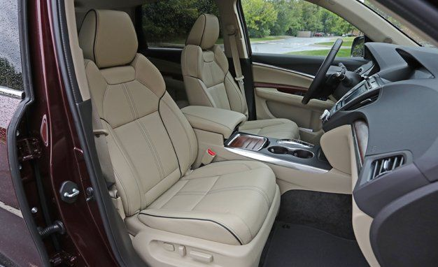 Acura MDX Interior Review Car And Driver - Acura mdx seats