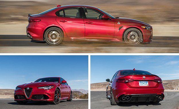 2019 Alfa Romeo Giulia Quadrifoglio Reviews Alfa Romeo Giulia