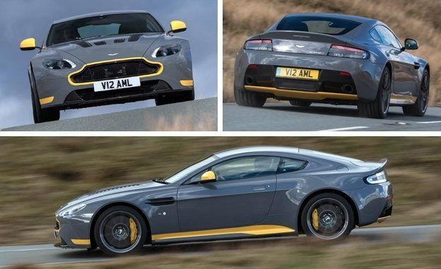 Aston Martin V Vantage S Manual Drive Review Car And Driver - Aston martin vantage v12
