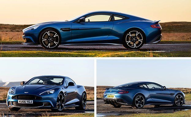 Aston Martin Vanquish S First Drive Review Car And Driver - Old aston martin vanquish