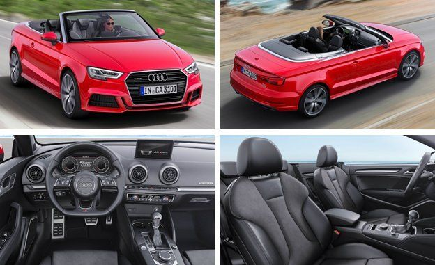 2017 Audi A3 Sedan And Convertible Photos And Info News Car And