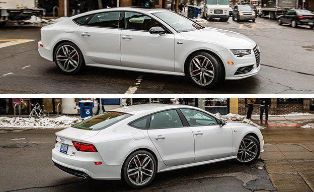 Audi a7 2017 white