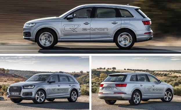 2017 Audi Q7 E Tron Tdi Plug In Hybrid First Drive Review Car And Driver