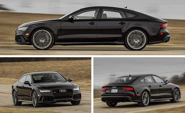 At 4487 Pounds Our Test Car Carried 34 Extra Of Machine Compared With The Last Rs7 We Tested An Insignificant Increase In Face