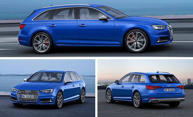 Audi S Avant Wagon First Drive Review Car And Driver - Audi van