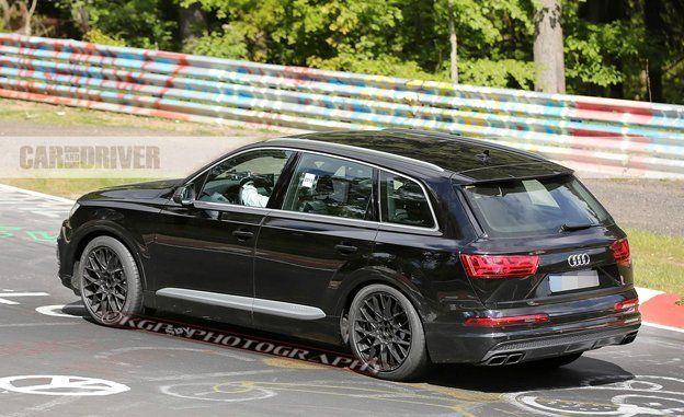 2017 Audi SQ7 Spy Photos | News | Car and Driver