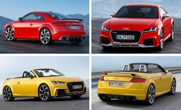 2018 audi tt rs coupe and roadster photos and info news car and rh caranddriver com Audi TT RS Specifications Audi TT RS Specifications
