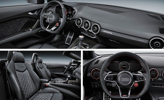 2018 audi tt rs coupe and roadster photos and info news car and rh caranddriver com TT RS Interior TT RS 2013