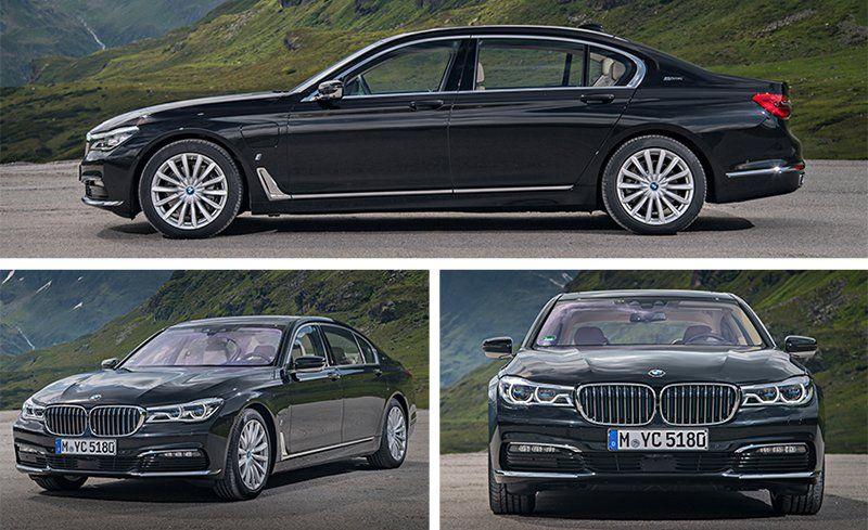 2017 BMW 740e XDrive Plug In Hybrid Test