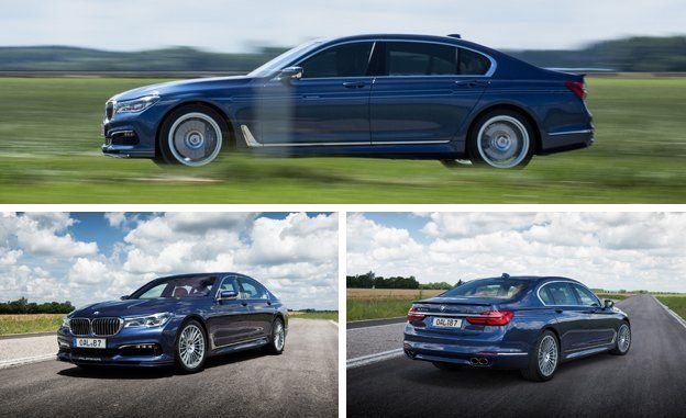 BMW Alpina B First Drive Review Car And Driver - Bmw alpina 7 series