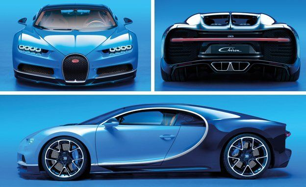 2017 bugatti chiron official photos and info – news – car and driver
