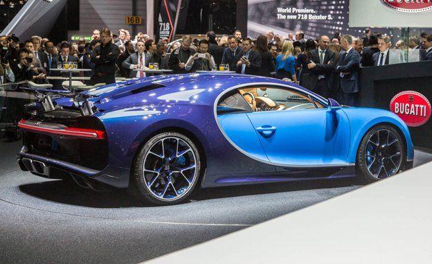 Bugatti chiron weight