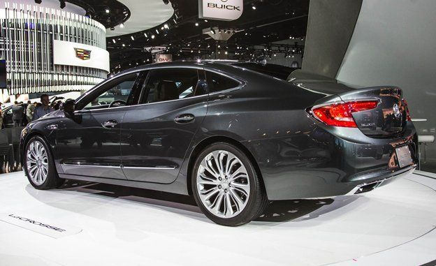 2017 Buick Lacrosse Redesign >> 2017 Buick Lacrosse Official Photos And Info News Car And Driver
